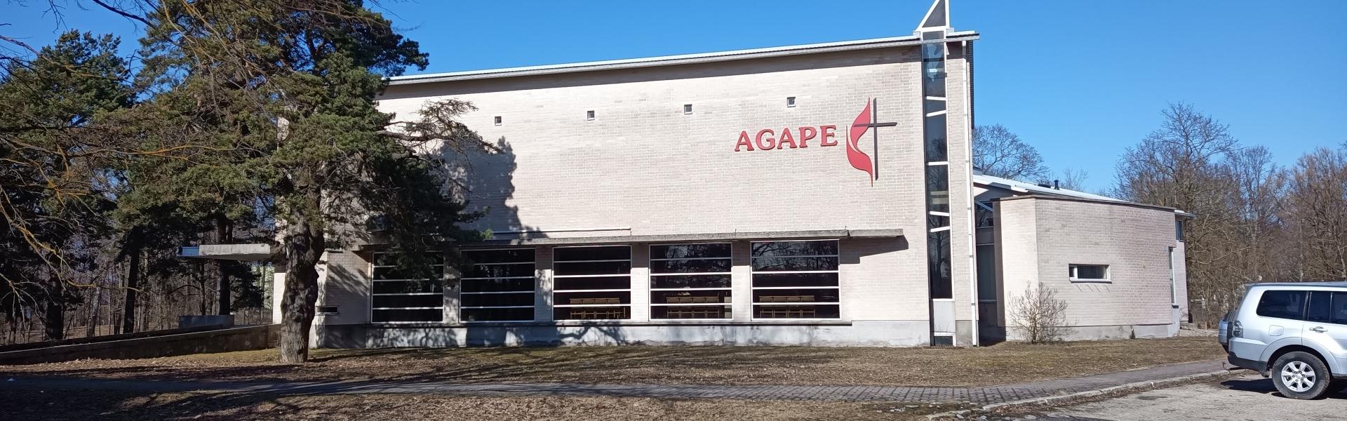 Agape teab, kuhu läheb. Tule kaasa!